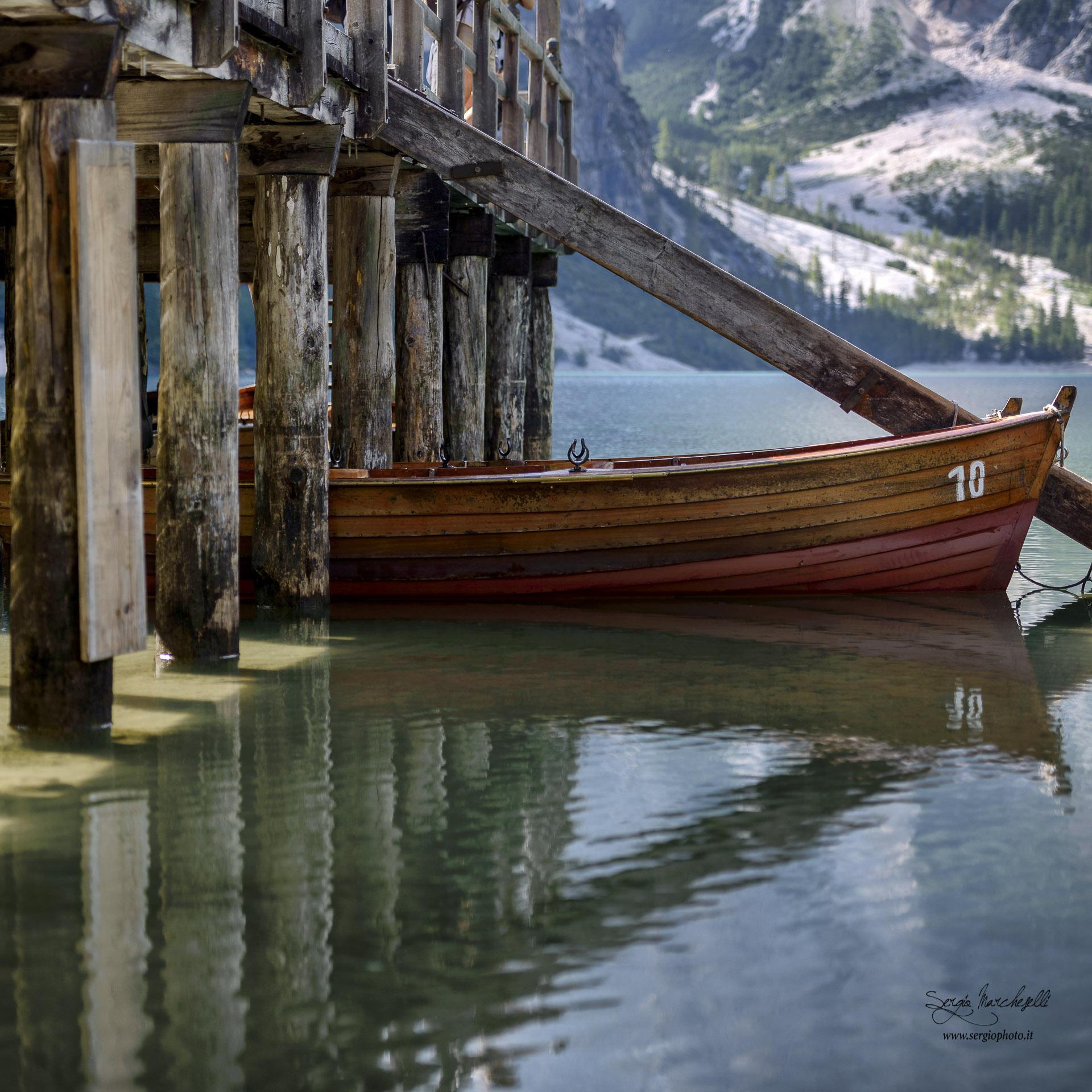 Braies' boat