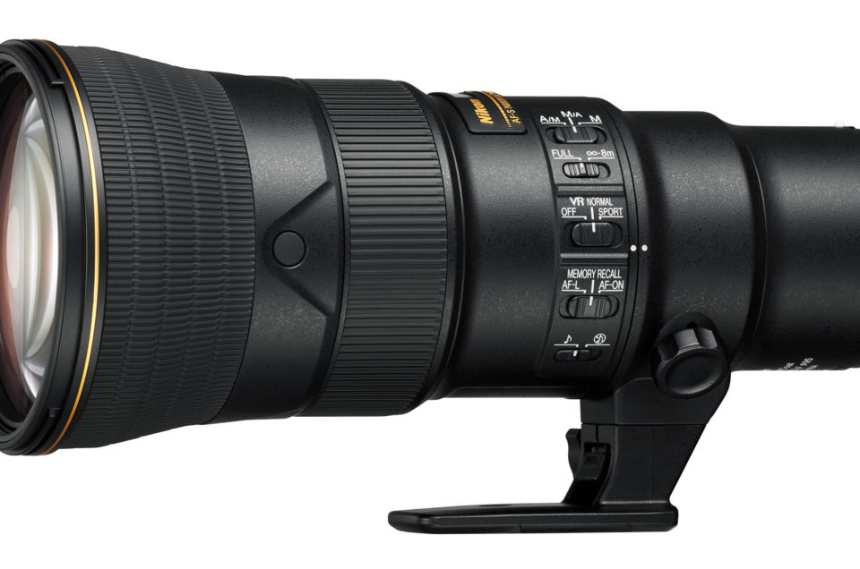 Obiettivo AF-S NIKKOR 500mm f / 5.6E PF ED VR