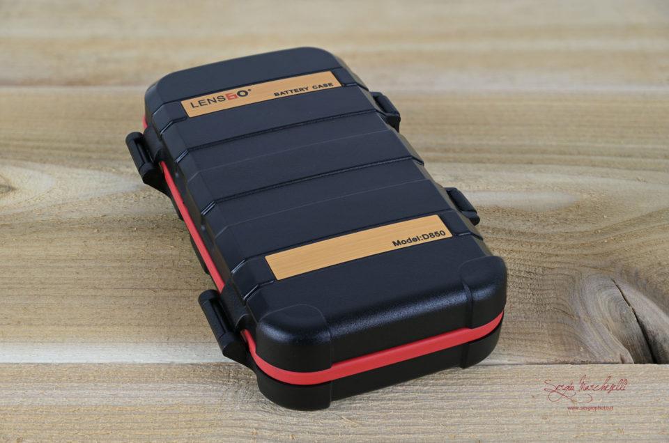Lensgo – Custodia schede memoria e batterie